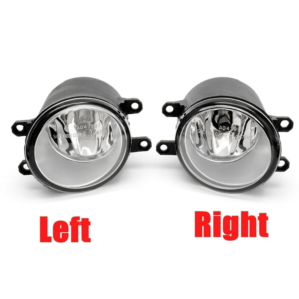 2Pcs Fog Light Lamp Left+Right H11 Bulb For Toyota/Camry/Corolla/Yaris/RAV4/Lexus CT200h LX570 RX450h IS250 2pcs left