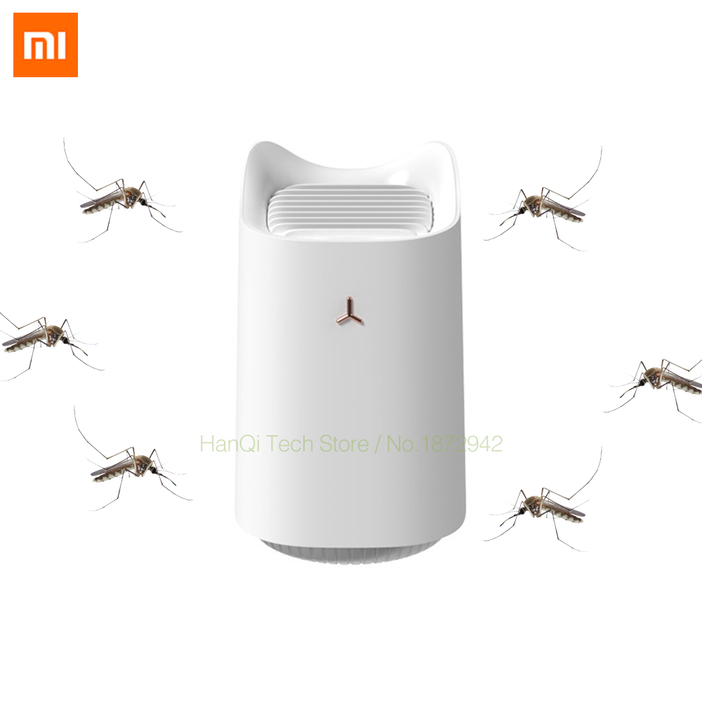 Xiaomi 3life Mosquito Killer Lamp USB Charging Electric Mosquito Dispeller Radiation-free Silent Mosquito Killer For Home Garden