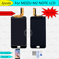 High Quality New LCD Display + Digitizer Touch Screen assembly with frame For Meizu M2 Note Phone 5.5 inch 1920*1080 Black Color