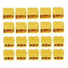 Free Shipping 10 Pairs Female Male XT90 Banana Bullet Connector Plug For RC LiPo Battery Gold Plated Banana Plug