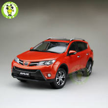 1:18 Scale Toyota RAV4 Diecast SUV Car Model Toys for gifts collection hobby Orange(China)