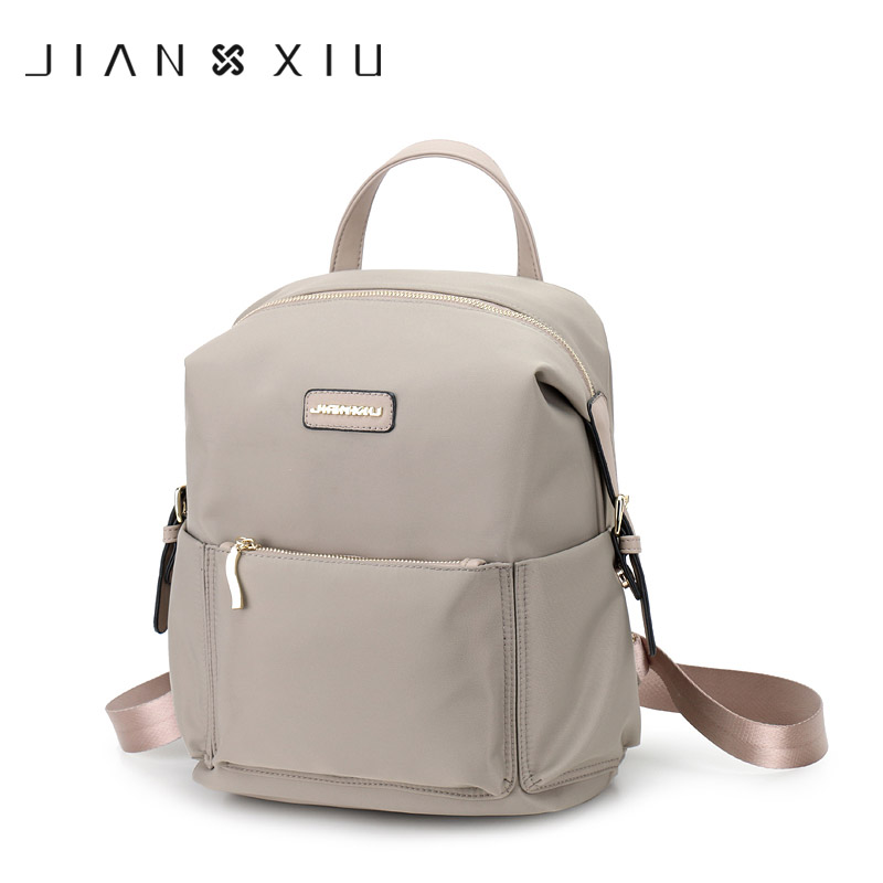 JIANXIU Brand Backpack Mochilas School Bags Casual Oxford Backpacks Travel Mochilas Mujer Ultra-light Waterproof New Back Pack findpop mochilas mujer 2017 famous brand backpack women waterproof nylon school bags student backpacks fashion casual trave bags