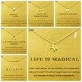 Gold Card Summary 1: Dogeared Elephant Unicorn Pearl Choker Statement Necklace Jewelry Chain Women Collares Colar Kolye Collier