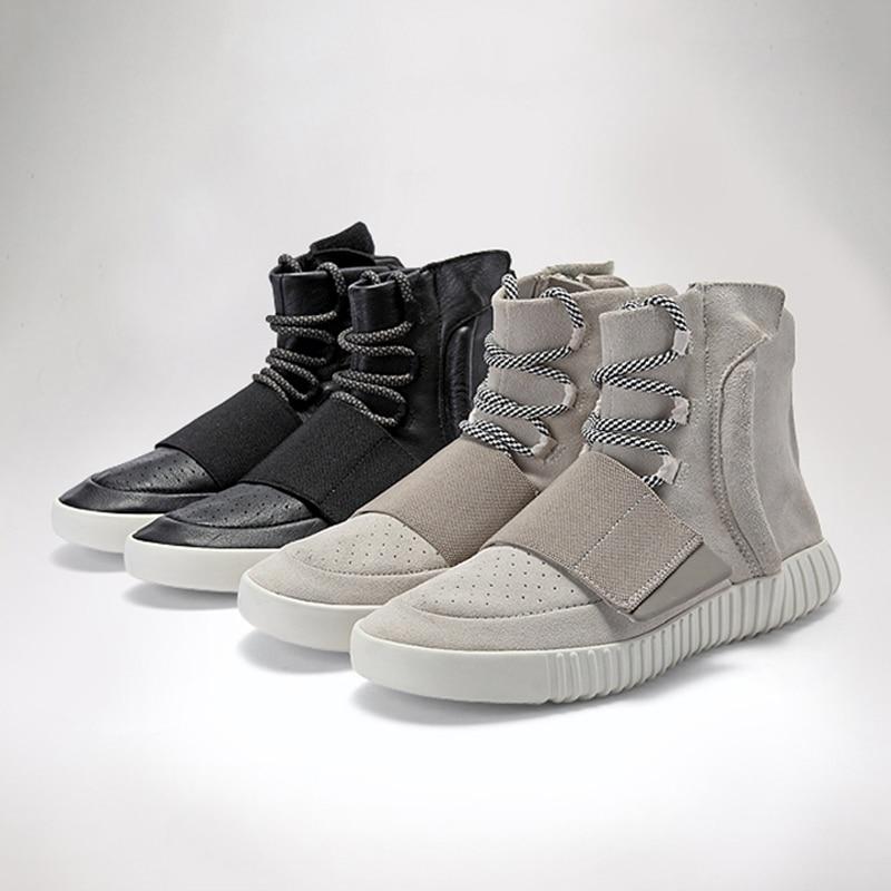 Al Ante Botas Martins Delivr Hombres gris Para Cuero Los Vaca Libre Hombre Aire Genuino Zapatos Casuales Negro Moda De Invierno 2019 n7Arz7qP