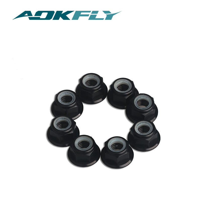 10pcs  Aluminium Nylon Lock Nuts M5 CW//CCW For FPV of Aerial RC Brushless Motors