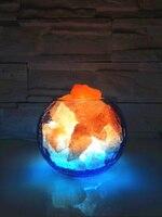 크리스탈 소금 테이블 램프/테이블 램프/창조적 인 테이블 램프/따뜻한 밤 빛 테이블 램프