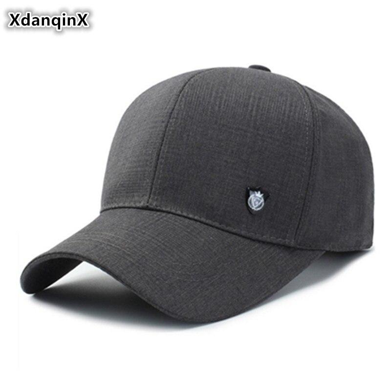 65331c4f4de7 Gorra de béisbol de algodón para hombre, XdanqinX, tamaño de cabeza  ajustable, Simple, moda, ...