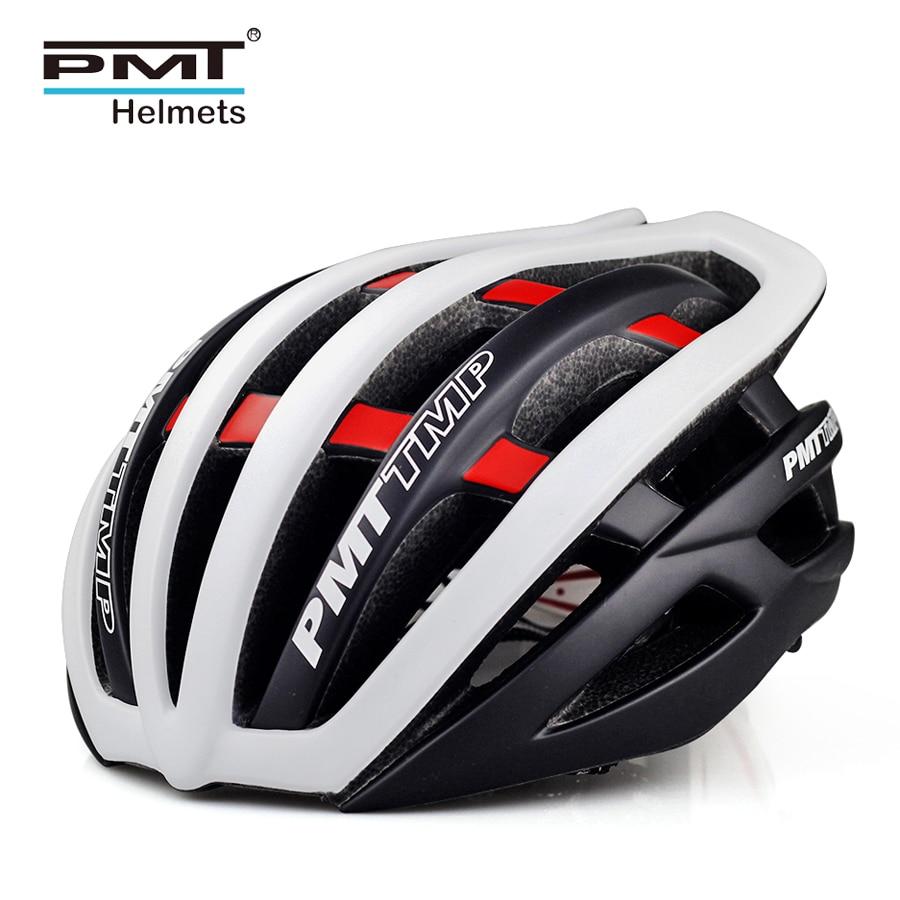 PMT road cycling helmet 2018 bicycle specialize bike helmets for men MTB mountain bike helm women 30 holes ultralight 240g S M L цена