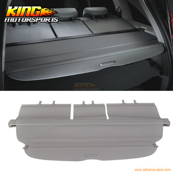 Fit For 07-11 Honda CRV CR-V OE Style Beige Rear Cargo Security Trunk Cover Retractable
