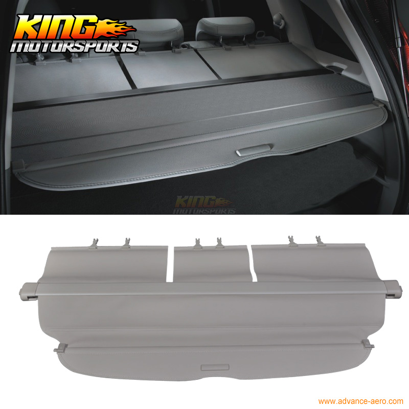 Fits 07 11 Honda CRV CR V OE Style Beige Rear Cargo Security Trunk Cover Retractable