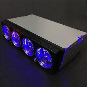 Image 5 - תצוגת LED מוסיקה ספקטרום Analyzer רכב אודיו רכב ספקטרום Analyzer טמפרטורת מתח אודיו תצוגת רמת מטר