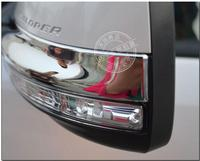 ABS chrome Car accessories Chrome Side Mirrors Anti rub Decoration Protector fit for FORD EXPLORE 2015
