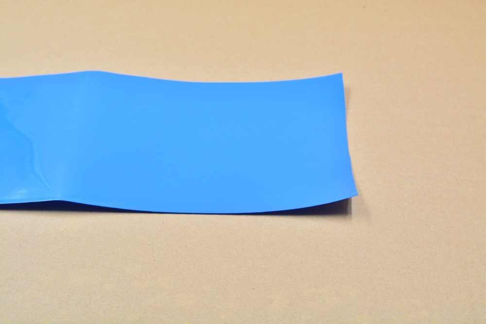 Ширина сглаживания 180 мм прозрачный цвет: черный, синий, белый много цвет ПВХ термоусадочные трубки картридж батарея корочки 1 шт