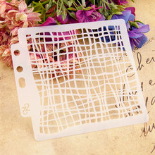 New Mesh Sticker Painting Stencils for Diy Scrapbooking Stamps Home Decor Paper Card Spray Template Decoration Album Crafts Art merry christmas set sticker painting stencils for diy scrapbooking stamps home decor paper cake card template decoration album