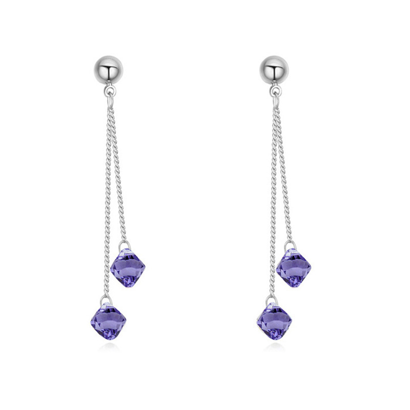 New Design Hot Fashion Charm Personality Crystals From Swarovski Earrings Jewelry Women In Stud Accessories On