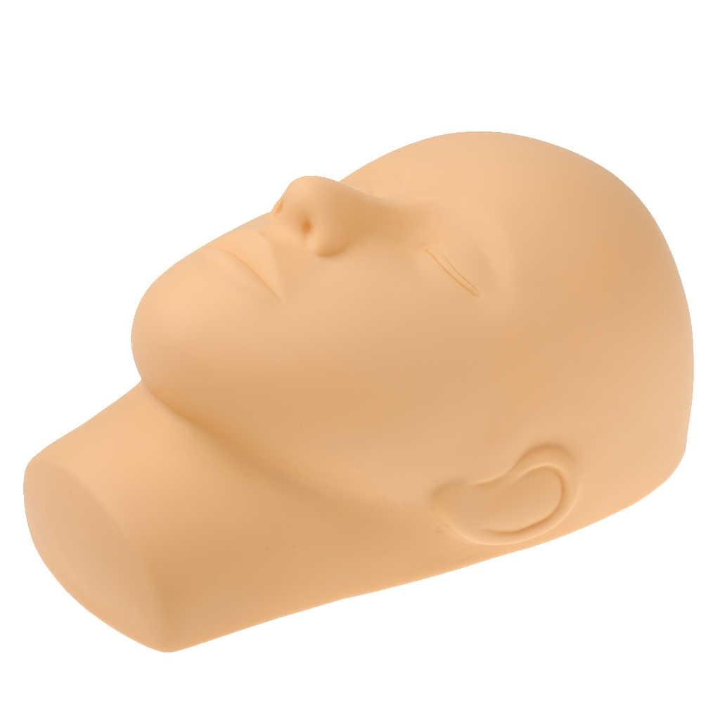 Yeni sıcak kapalı gözler manken başkanı masaj makyaj kirpik uzatma uygulama modeli şapkalar kıllar gözlük ekran peruk için vitrin