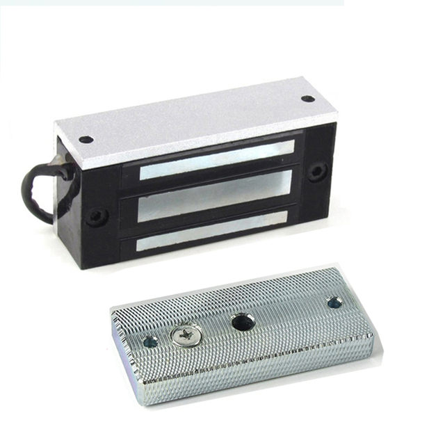 Electronic Door Lock Mini Magnetic Locks 60KG DC 12V/24V 100LBS EM Lock Electromagnetic Lock Automatic Barrier for Takagism Game