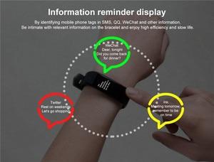 Image 5 - Neue sport smart armband wasserdichte blutdruckmessgerät smart armband fitness tracker smart pedometer smart armband PK my band