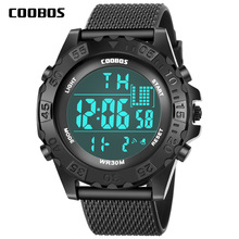 New Arrival Kids Watch Digital Sports Silicone Wrist