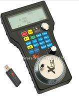 CNC Wireless USB Mach3 MPG Pendant Handwheel 4 axis Controller For CNC Carving machine