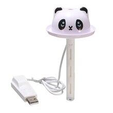 AIMA Mini Cartoon USB Bottle Cap Humidifier Home Car Air Diffuser Mist