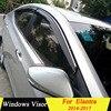 Per Hyundai Elantra 2014 2015 2016 2017 di Plastica Finestra Visiera Vent Shades Sun Pioggia Deflettore Guardia Accessori Auto 4 pz/set-in Deflettori per finestrini auto da Automobili e motocicli su