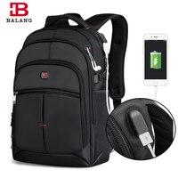 BALANG New Men Business Laptop Backpack Unisex Trendy Notebook Backpacks Fashion School Bag for Teenagers Boys Girls Travel Bags