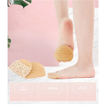 1/2 pairs of high-heeled shoes cushion non-slip silicone embellished invisible insole with heel socks 1 2 pairs of high heeled shoes cushion non slip silicone embellished invisible insole with heel socks