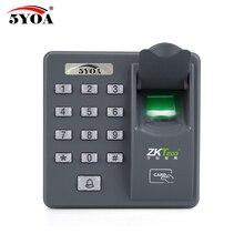 ลายนิ้วมือรหัสผ่านกุญแจล็อคควบคุมเครื่อง Biometric ประตูล็อคอิเล็กทรอนิกส์ RFID Reader เครื่องสแกนเนอร์อุปกรณ์ระบบ