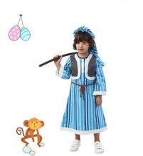 Halloween Costume children Arabia boy female Dubai robe shepherd girl Chieftain Cosplay Costumes boy Arab sheik clothing the sheik