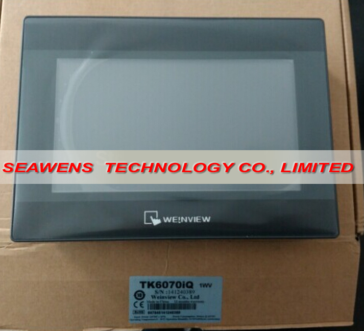 TK6070iQ : New Weinview Touch Screen 7inch HMI TK6070iQ with Chinese software, Fast shipping th765 nu 7 inch xinje th765 nu hmi touch screen new in box fast shipping