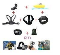 Gopro Hero Accessories Set Helmet Harness Chest Belt Head Mount Strap Go Pro Hero3 Hero4 2