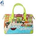 2016 женщин сумки сумки посыльного сумки горячей продажи моды сумки все цветы портофино женщины сумку убежища мешки дом