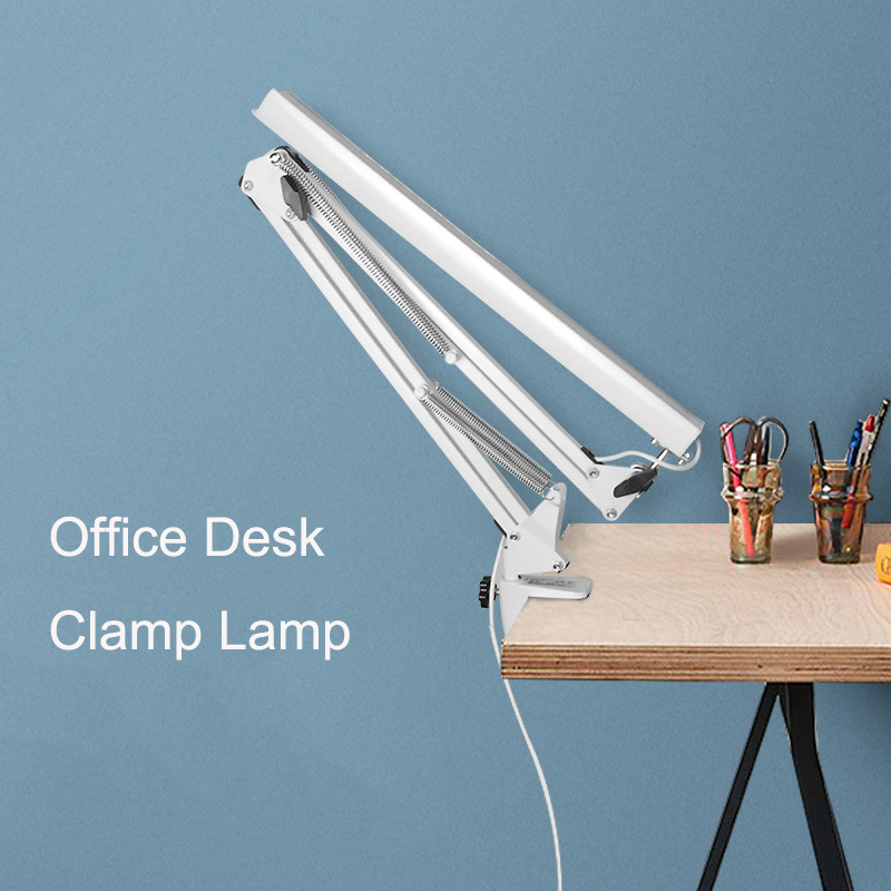 US LED Long Swing Arm Desk Lamp W Clamp Metal Architect Adjustable light reading джинсы diesel diesel di303emrxt27