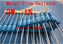 20 штук 2 Вт металла Плёнки резистор +-1% 2 Вт 10 Ом 10R Бесплатная доставка