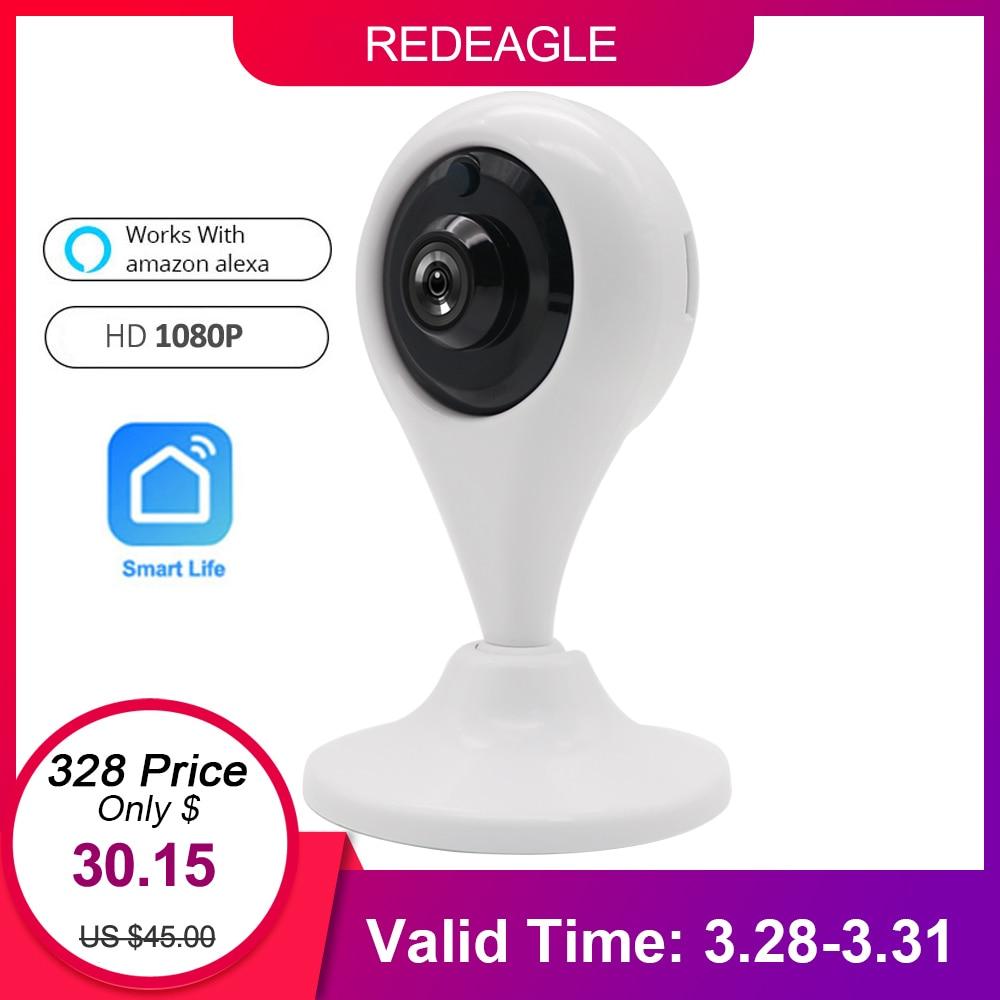 REDEAGLE HD 1080 P WiFi Caméra IP Sans Fil Vidéo Surveillance caméra de sécurité Soutien Amazon Alexa Echo Spectacle Google Maison