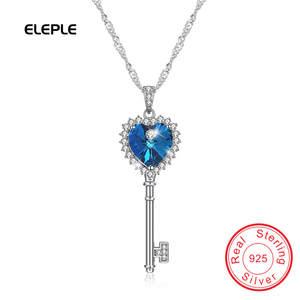 e75fb47c2 Eleple Vintage Key Necklace For Women Girls pendants