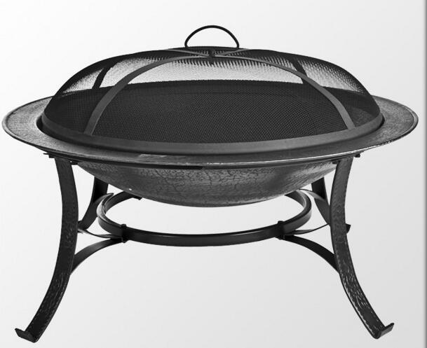 Camino esterno giardino buca per il fuoco per la vendita di alta qualità buca per il fuoco di colore nero