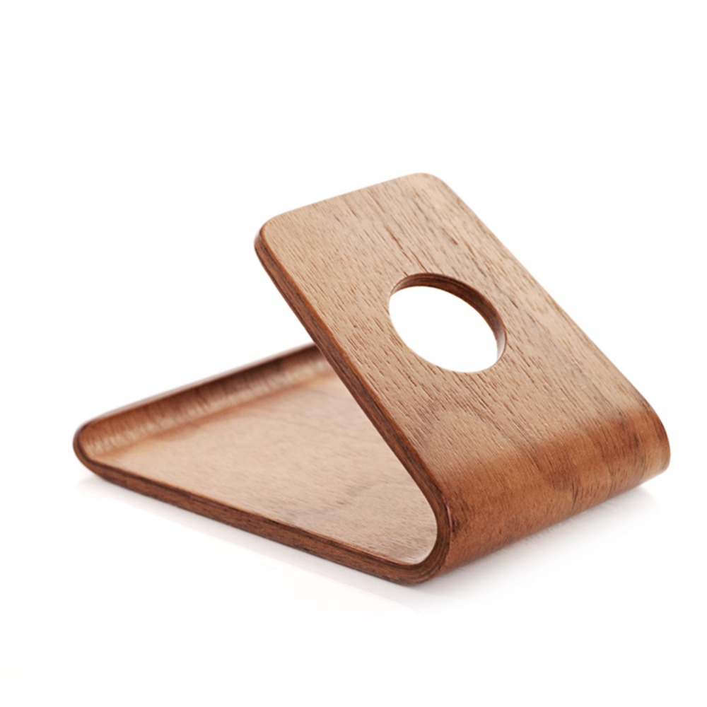 Comprar titular de teléfono móvil de madera para accesorios de - Accesorios y repuestos para celulares - foto 6