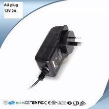 12V 2A AU certificate Plug adapter GPON /EPON ONU ONT, with C tick mark(China)
