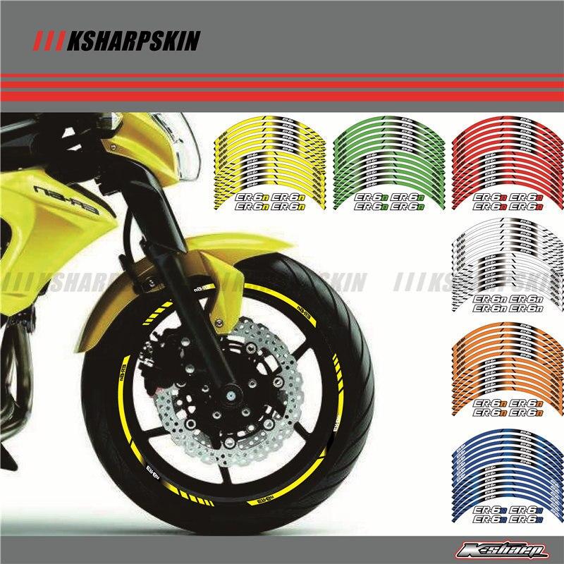 Motorräder Reflektierende Aufkleber Räder Aufkleber