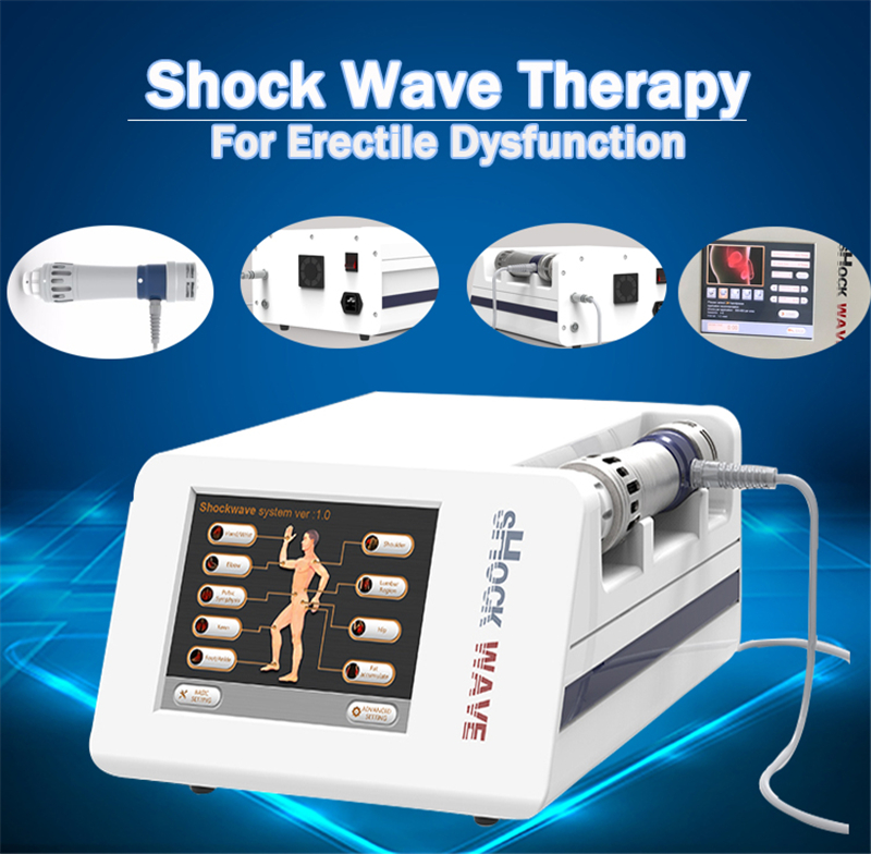 Portable Aesthetic Relieve Joint Pain Shock Wave Equipment With Electronics/extracorporeal Radial Shock Wave Therapy For ED
