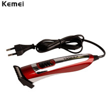 110-240V Electric Hair Trimmer Professional Corded Hair Clipper Barber Cutting Machine to Haircut with Limit Comb Styling Tools