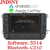 JNDSNY Android Auto CarPlay R340G RCD330 Noname RCD330G Плюс Радио Автомобиль VW Golf 5 6 Jetta CC Tiguan Passat поло 6RD 035 187B