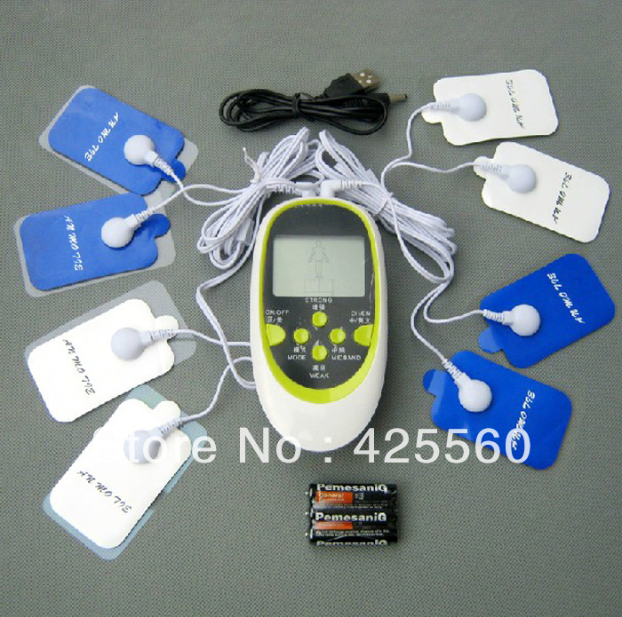 2 Channels TENS Electrical Stimulator Body Relax Muscle Therapy Massage Electronic Pulse Massager Relieve Pain Physiotherapy hwato computer random pulse acupuncture treatment instrument smy 10a nerve and muscle stimulator tens 10 channels output ce appr