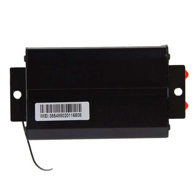 TK103B Car GPS Tracker Network SMS GPRS Vehicle Tracker Locator with SIM SD Card Anti-theft Date Logging On Internet
