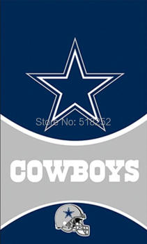 Dallas Cowboys Helmet Vertical Flag 3x5 FT 150X90CM NFL Banner 100D Polyester Custom flag grommets 6038,free shipping dallas cowboys