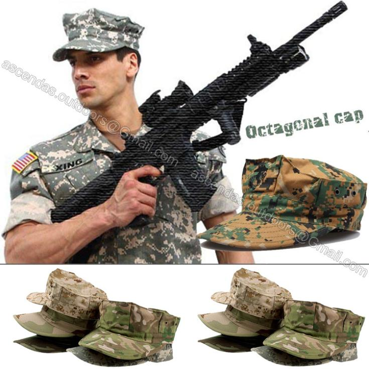 US ACU CP Desert Woodland Digital Multicam Military Caps Army Camouflage  Marines Hats Sun Fishing Tactical Combat Paintball Caps a43c4b55024