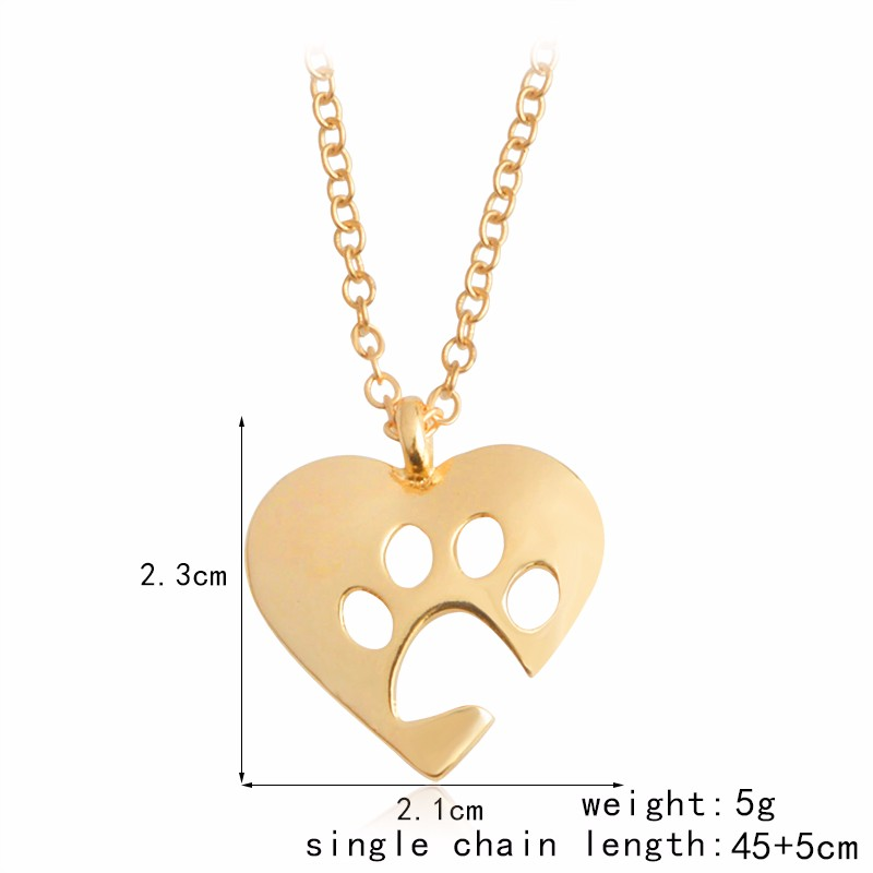 I Love Paw Necklace 4