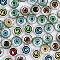 8 мм Смешанного Стиля Глаза Круглый Стекло Кабошон Купола Находить Ювелирных Изделий Камея Настройки Подвесные 50 шт./лот (K02885)